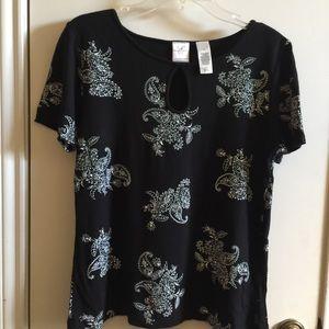NWOT Emma Hames blouse, size M.